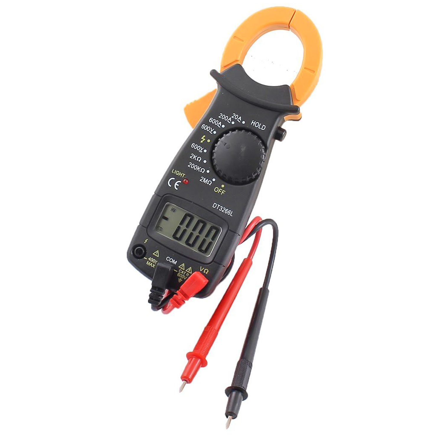 Voltage Clamp Meter : Digital electronic ac dc voltage clamp volt meter