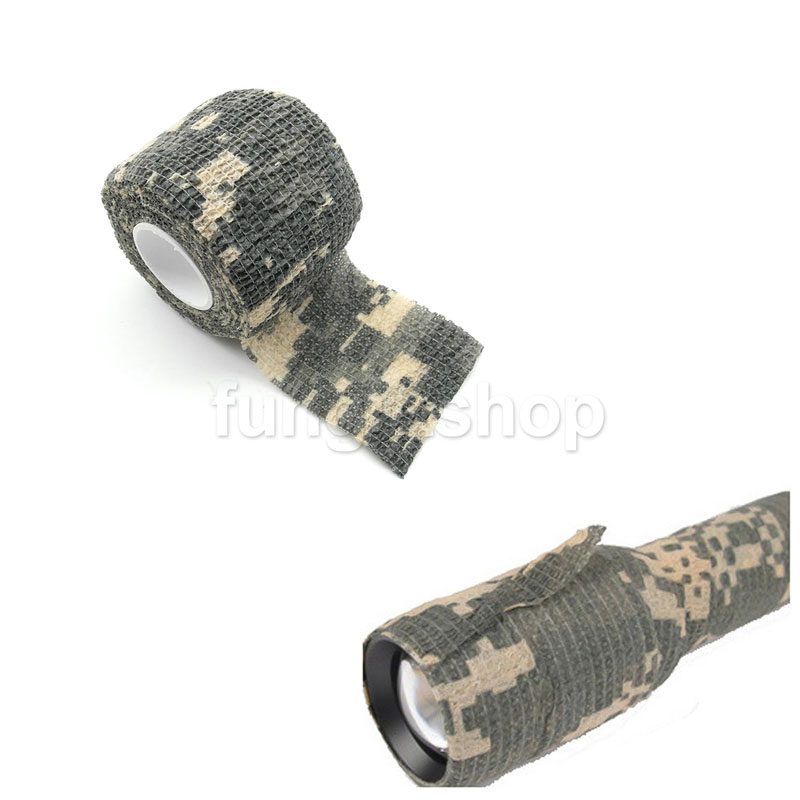 5CMx4.5M Camo Waterproof Wrap Gun Camping camera Camouflage Stealth Tape ACU