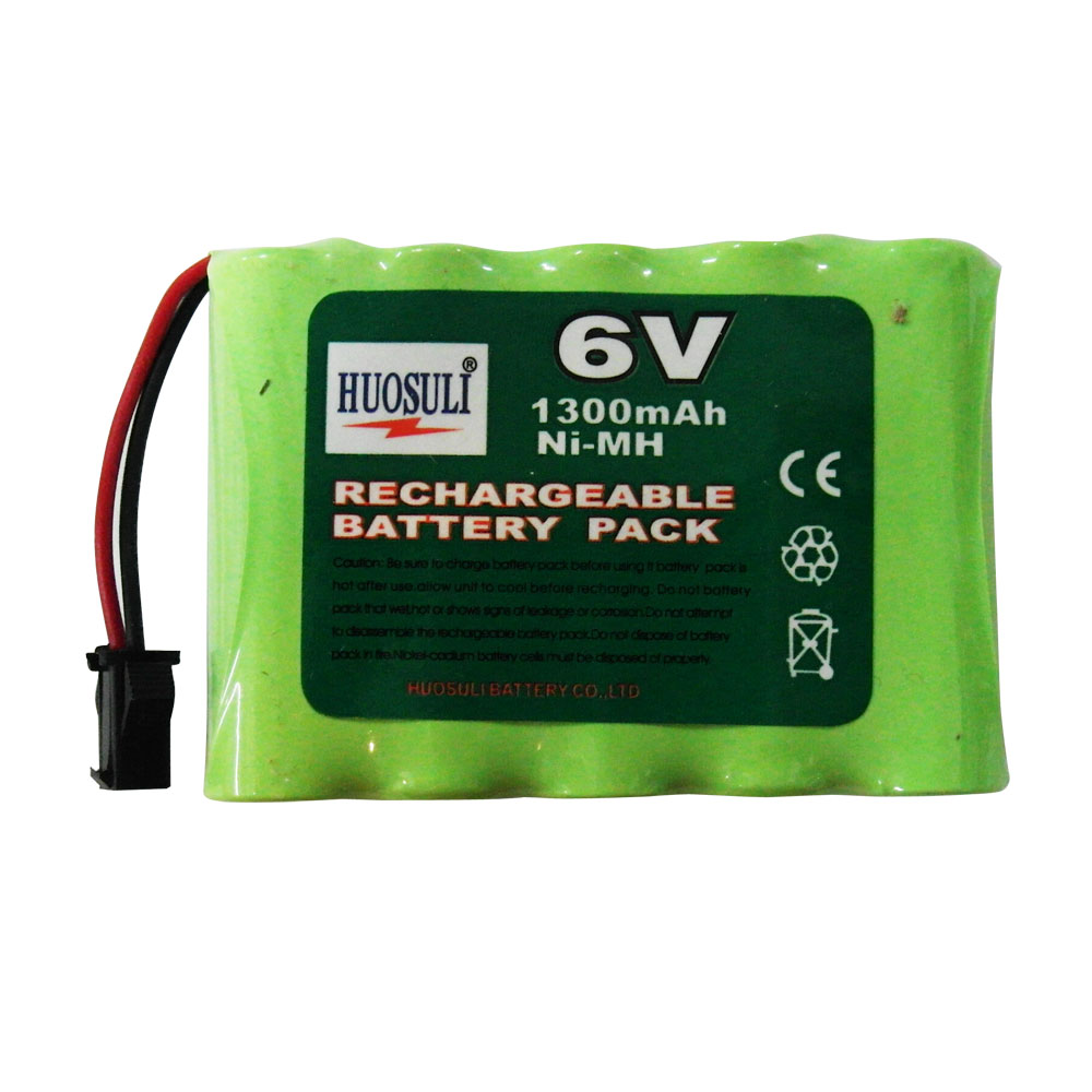 N Battery Rechargeable 1 pc 5*AA 1300mAh 6V N...